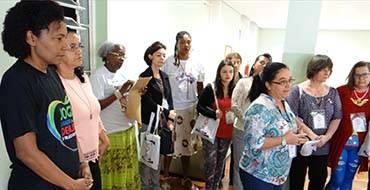 Centro de Formação recebe grupo de mulheres para encontro ecumênico